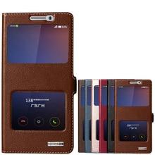 Cubierta case para xiaomi note 2 natural de calidad superior de cuero genuino imán del tirón del soporte del teléfono móvil bolsa para mi note2 + free regalo