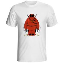 Deadpool Is A Fat Hero T Shirt Cool Skate Style T-shirt Casual Fashion Hip Hop Unisex Tee