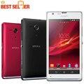 Разблокирована Sony Xperia ZL L35h Оригинальный телефон четырехъядерный процессор 3 Г и 4 Г GSM, WIFI, GPS 5.0 ''13MP Sony L35h 2 ГБ RAM 16 ГБ хранения