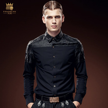 שרוולים אופנה הגברים חולצה