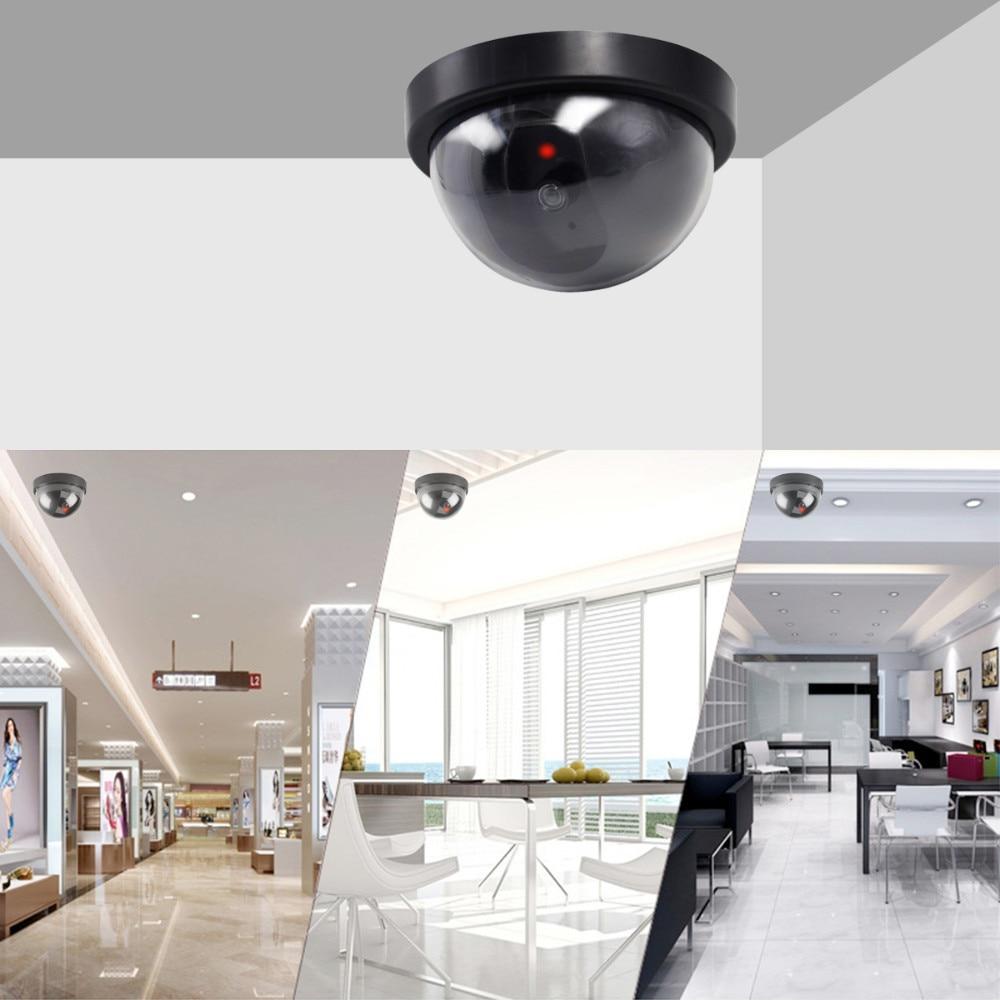 JOOAN indoor/outdoor Surveillance Dummy Ir Led Wireless Fake dome ...