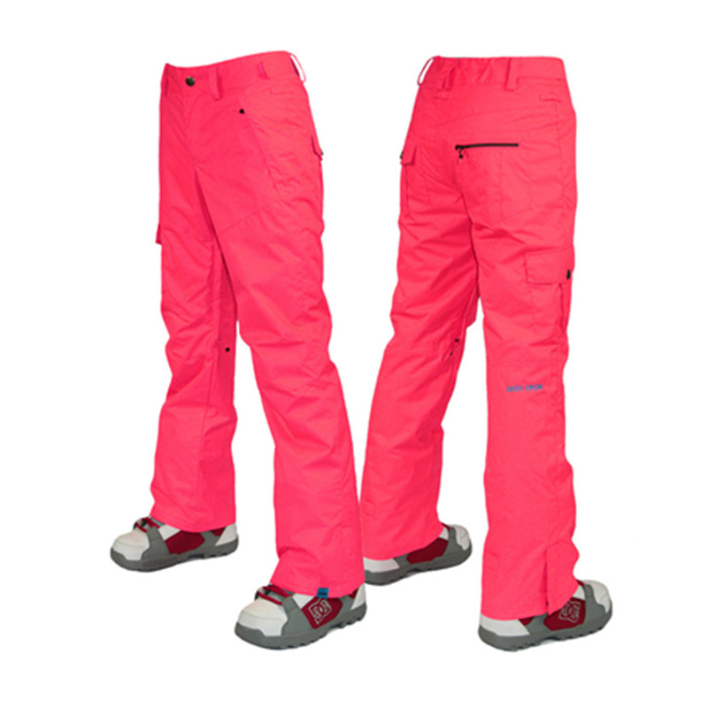 Pantalon de ski 2018 wintersport femme vert menthe pantalon de ski snowboard pantalon de ski femme plafoni sci donna