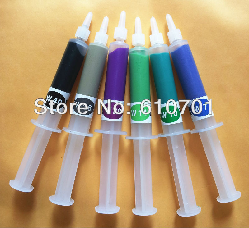 1pc W0.5-W40 5g Diamond Compound Polishing Grinding Cream Lapping Buffing Paste Water Soluble 3200~320 Grit Polisher