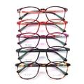 Novas Mulheres Moda Óculos TR90 Óculos Ópticos Armações de Óculos de Alta Qualidade Confortável Óculos de Proteção Óculos de Computador Oculos de grau TR3023
