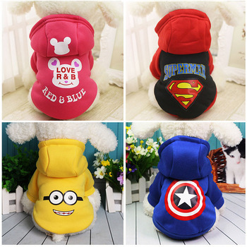Warm Pet Dog Clothes Winter Dog Clothes For Small Dogs Clothing Chihuahua Puppy Outfit For Fashion Dog Coat Yorkie Hoodie 25S1