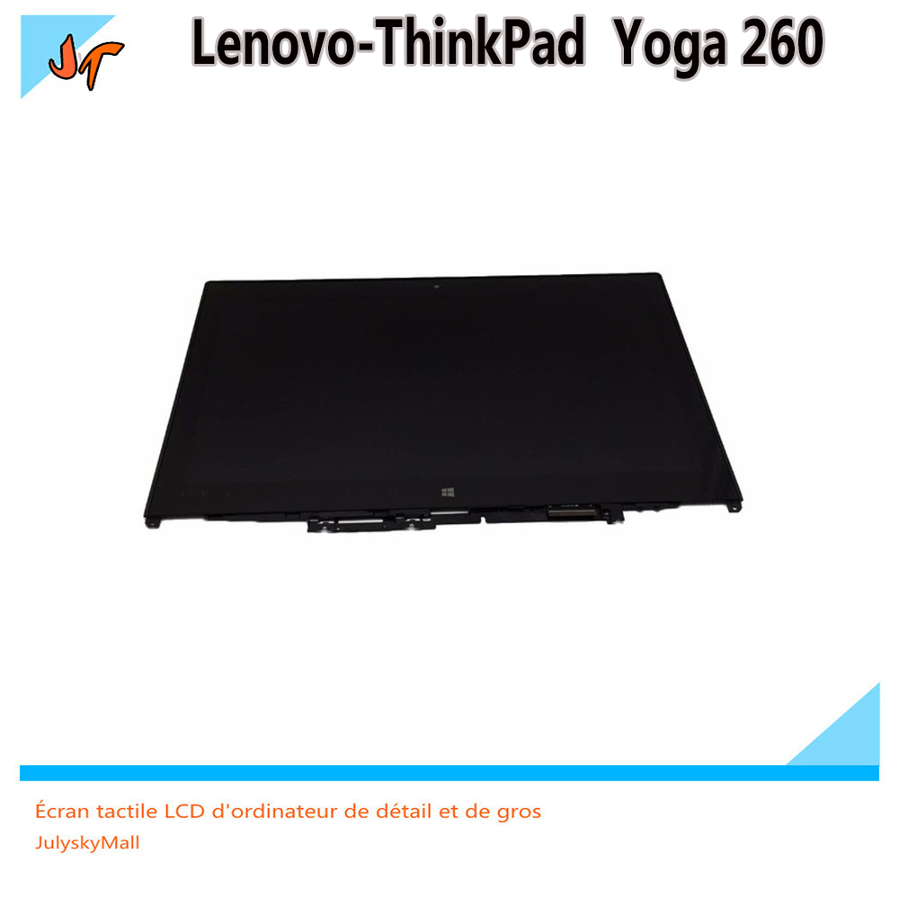 New 12 5 Touch Digitizer LCD Screen N125HCE GN1 B125HAN02 2 Assembly For Lenovo ThinkPad Yoga