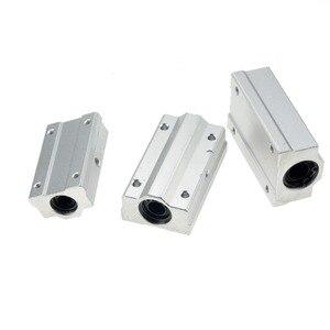 Image 5 - 2 cái/lốc SC16LUU SCS16LUU 16mm loại Tuyến Tính Bi Khối CNC Router với LM16LUU Bush Gối Chặn Tuyến Tính trục CNC 3D