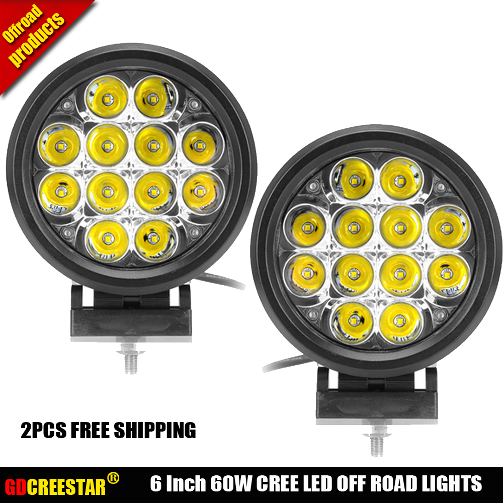 4d8179 Buy Round Led Offroad Lights 6 Inch And Get Free