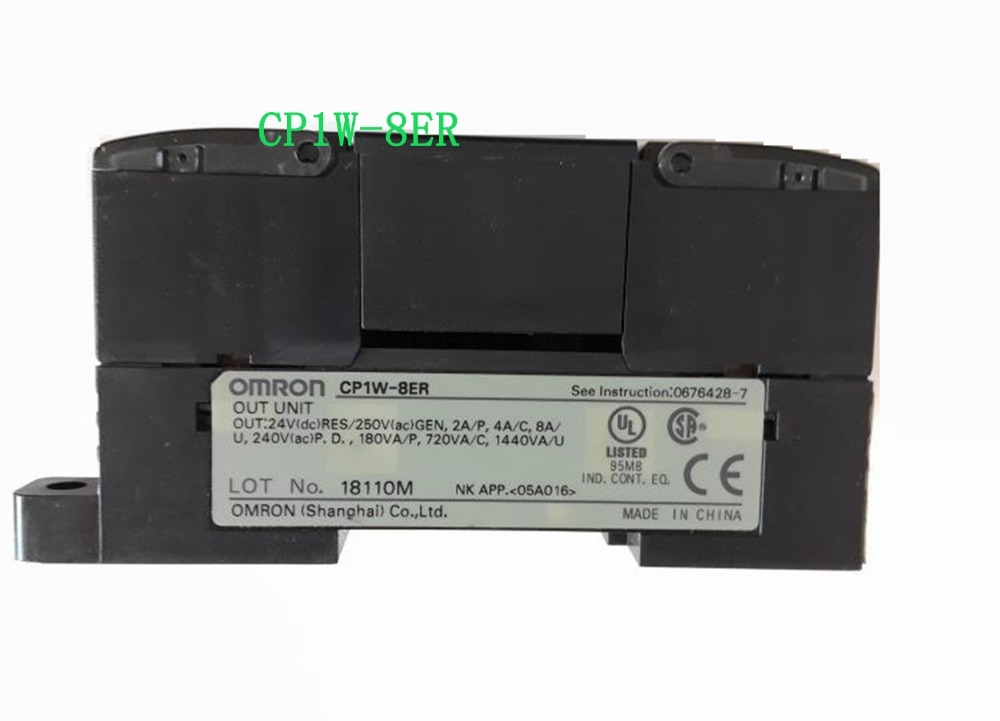 8ER New original CP1W-8ER CP1W8ER EXPANSION INPUT/OUTPUT 8-OUT RELAY PLC ACCESSORY well tested fx2n 8er plc