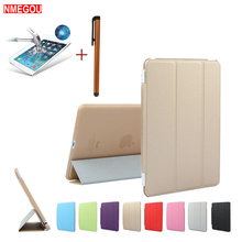 3 In 1 Smart Flip PU Leather Full Cover + Screen Protector + Touch Pen for Apple IPad