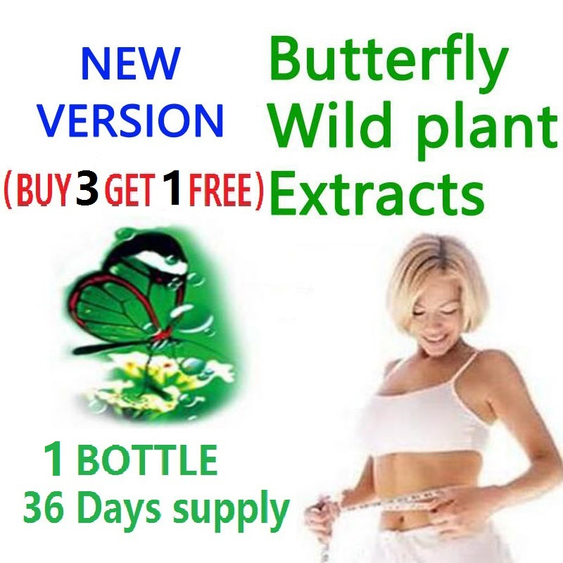 (BUY 3 GET 1 FREE) supply diet product butterfly wild plant botanic extracts gels fat burner 100% effective advanced slimming