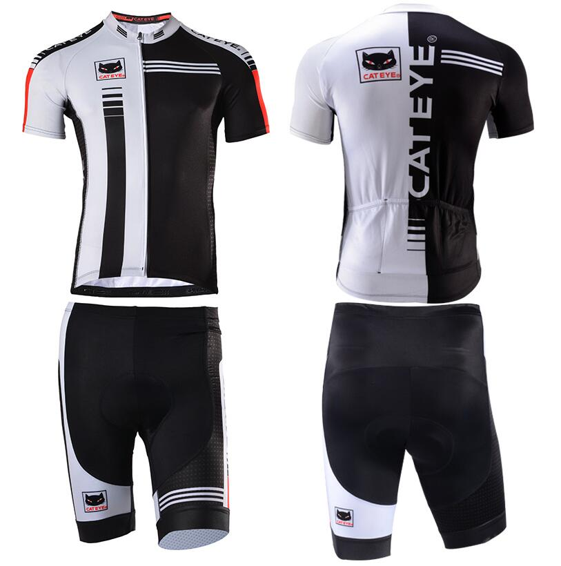 CATEYE summer cycling wear short sleeved shirt for men and women sportswear bicycle speed dry Reflective Logo