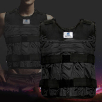 Weighted Vest Adjustable Weight Jacket Exercise Fitness Boxing Training Waistcoat Invisible Weight Sand Clothing Empty