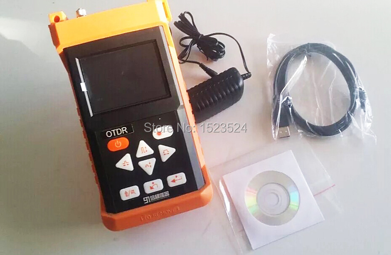 ShinewayTech S120B 28/28dB SM 1310/1550nm Optical Time Domain Reflectometer Fiber Optic OTDR
