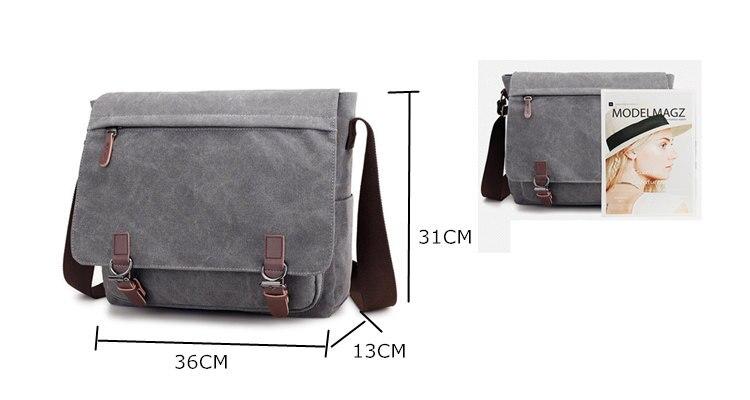 Micom Canvas Men Messenger Bags Vintage Shoulder Belt Bag Large Capacity Business Travel Bag Men\`s Canvas Crossbody Handbag New (3)