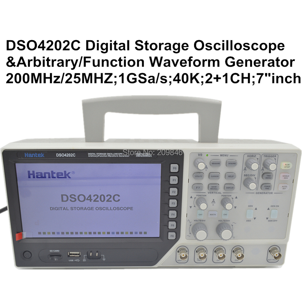Function Generator And Oscilloscope : Hantek dso c channel digital oscilloscope