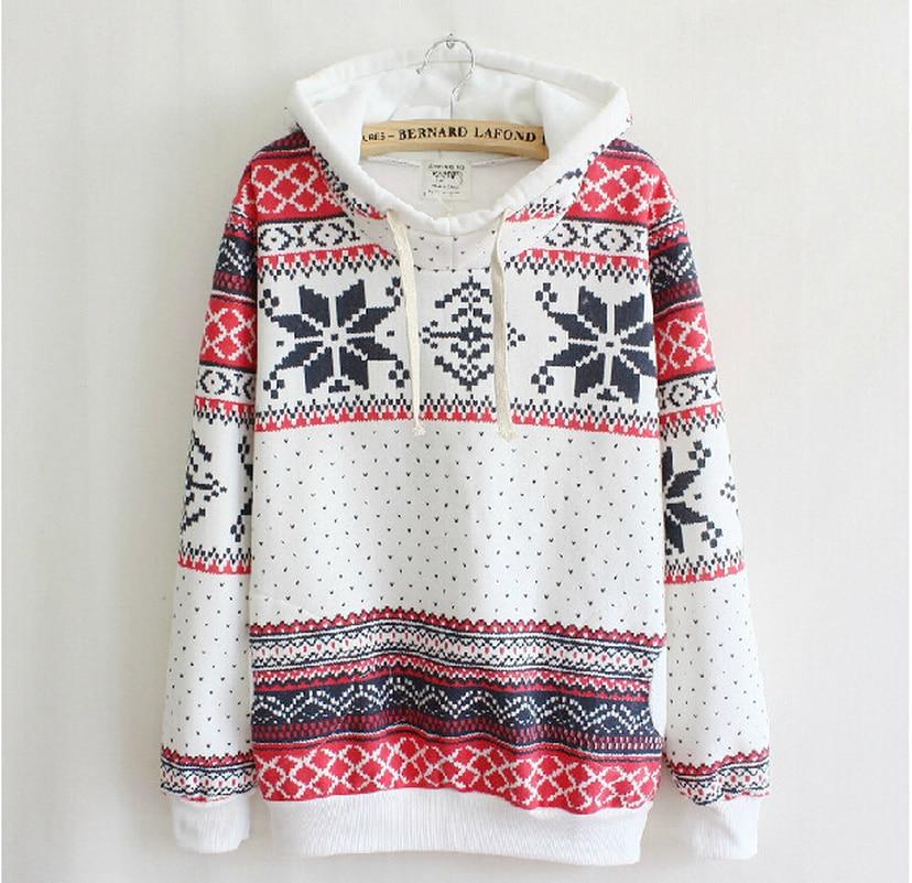 Snow Hoodies Sweatshirts 2019 Women Casual Kawaii Harajuku Fashion Punk For Girls Clothing European Tops Korean