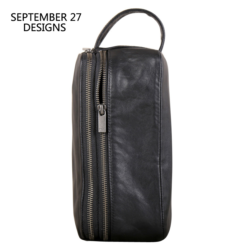 Clutch Bag Men Genuine Leather Large Capacity Money Bag Luxury Male Double Zipper Travel Wallets Phone Purses Organizer WalletClutch Bag Men Genuine Leather Large Capacity Money Bag Luxury Male Double Zipper Travel Wallets Phone Purses Organizer Wallet