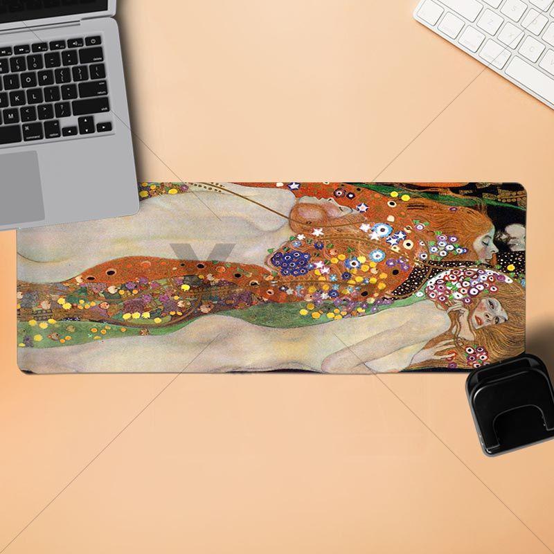 Yinuoda в заполненный Густав Климт поцелуй компьютерных игр для мышей Размеры для 180*220 200*250 250*290 300*900 и 400*900*2 мм