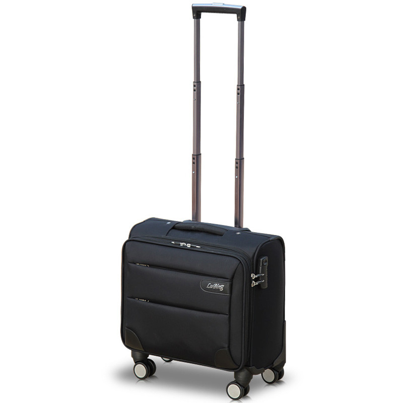 14 16 18 20 inches universal wheels trolley luggage travel bag male commercial oxford fabric luggage female,mini travel bags