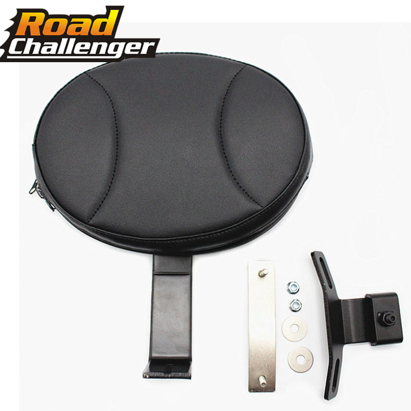 Motor Bike Detachable Driver Rider Back Cushion Backrest Pad  For Harley Fatboy Heritage Softail 2007-2017