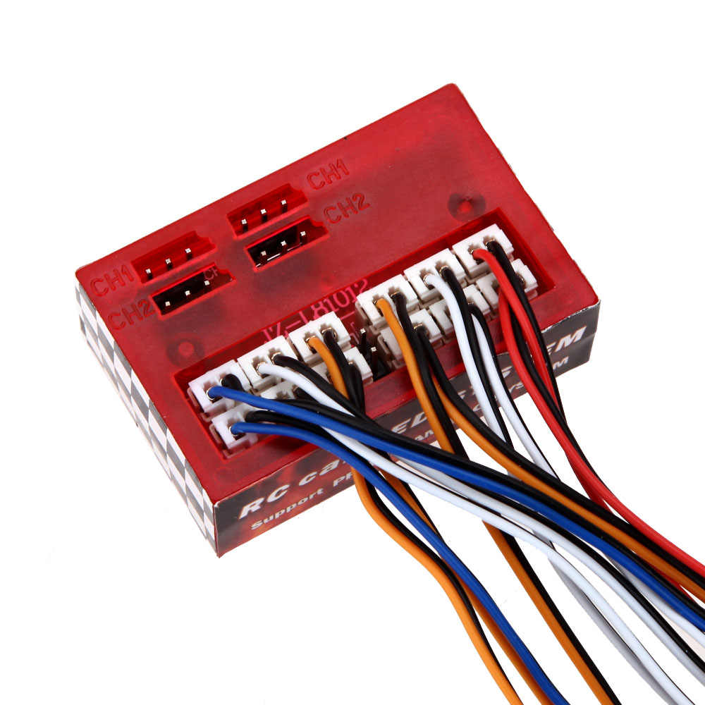 AX-003 мультифункциональый ультра яркая светодиодная лампа для HSP 1/10 1/8 Traxxas TAMIYA по супер скидке CC01 4WD осевой SCX10 радиоуправляемая модель автомобиля