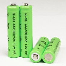 50pcs 1800mAh Ni-MH AAA Battery NI-MH 1.2V Neutral rechargeable battery batteries Free shipping