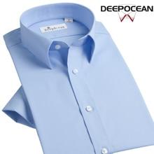 Демисезонный Для мужчин рубашка 2017, Новая мода 100% хлопок Для мужчин тонкий Бизнес Рубашки для мальчиков повседневная одежда Для мужчин рубашка