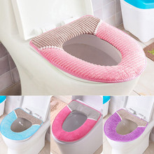 Toilet Seat Cover Bathroom Protector Closestool Soft Warmer All Shape Lid Pad