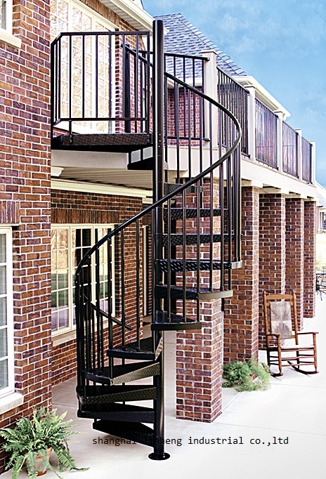 Hot Promo E8Ce0 Outdoor Wholesale Chinese Cheap Spiral | Stairs For Small Spaces | Modern | Living Room | Beautiful | Design | Metal