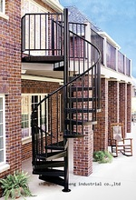 Купить с кэшбэком outdoor wholesale chinese cheap spiral staircase manufacturers, stairs for small spaces