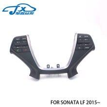 Кнопки на руль для Hyundai Sonata LF 2015 ~ Bluetooth телефон круиз контроль кнопка дистанционного управления левая музыкальная кнопка