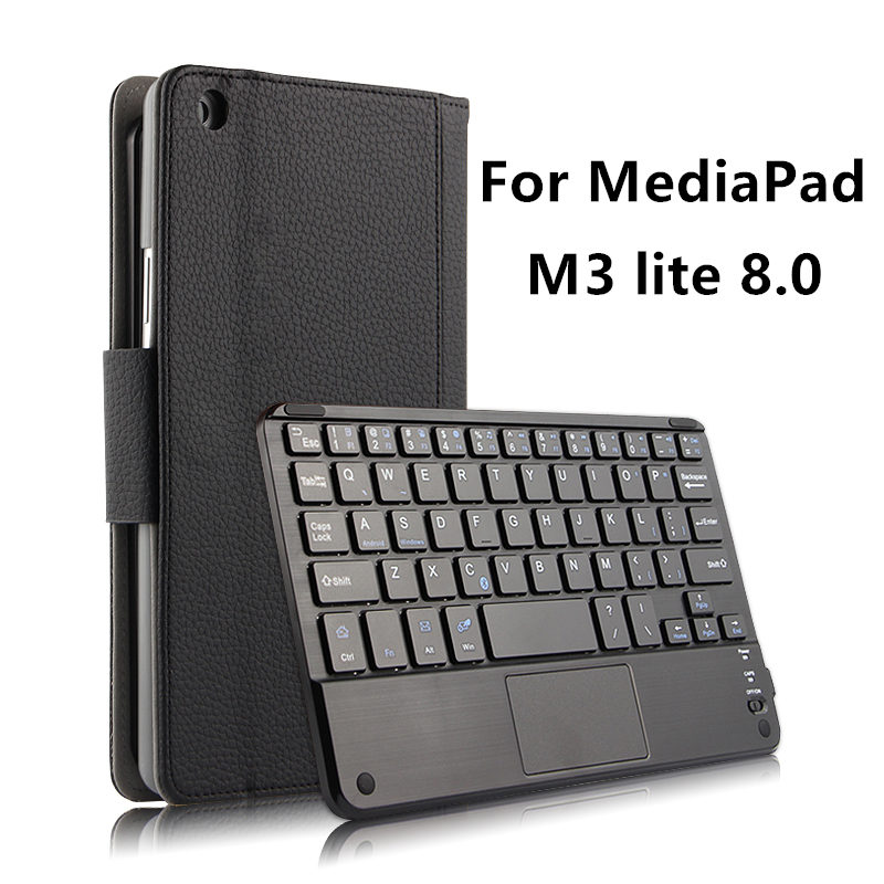 Case Wireless Bluetooth Keyboard For Huawei MediaPad M3 lite 8.0 Youth Cover Protective Protector Leather CPN-W09 AL00 8 Tablet crystal protective case for nds lite