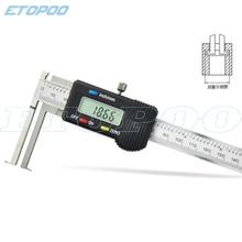 10-150 мм внутренний цифровой штангенциркуль с краем Knief, электронный внутренний штангенциркуль, измерительный инструмент
