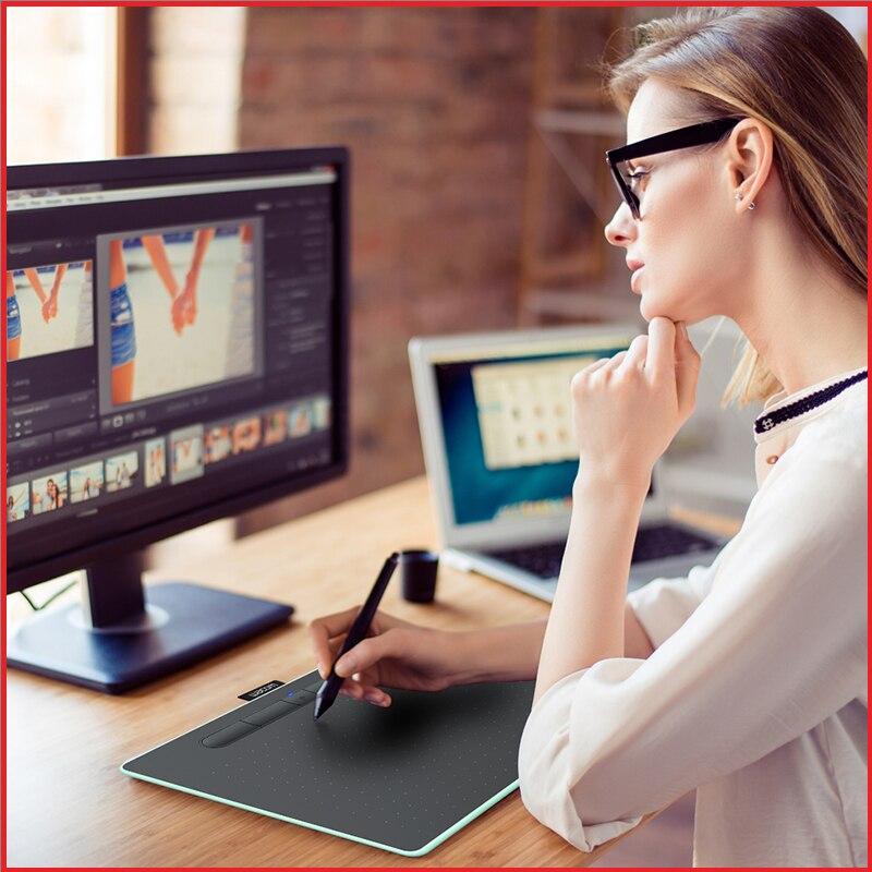 Wacom Intuos CTL-6100 Numérique Graphique Comprimés tablette de dessin 4096 Niveaux de Pression Moyen Taille avec Bonus Logiciel + paquet-cadeau - 6