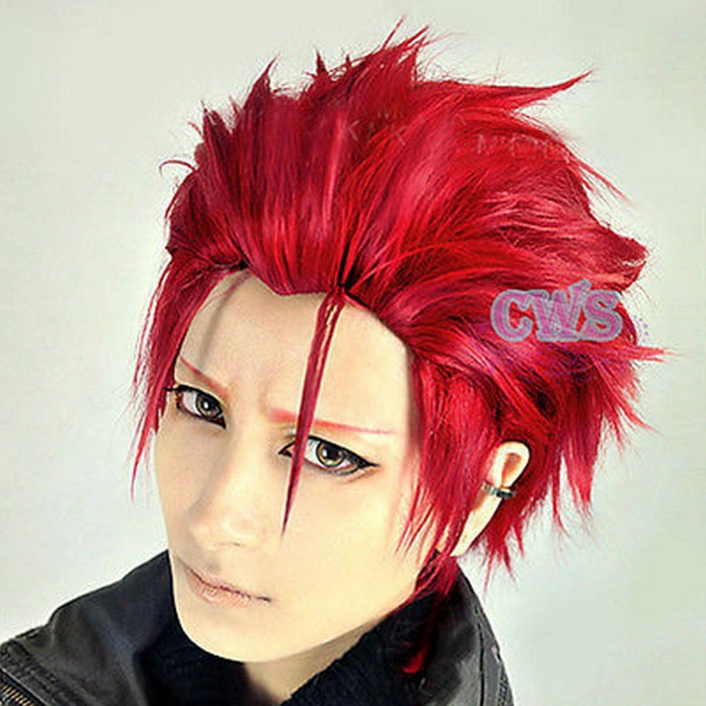 K Project Mikoto Suo Heat Resistant Short Red Anime ...
