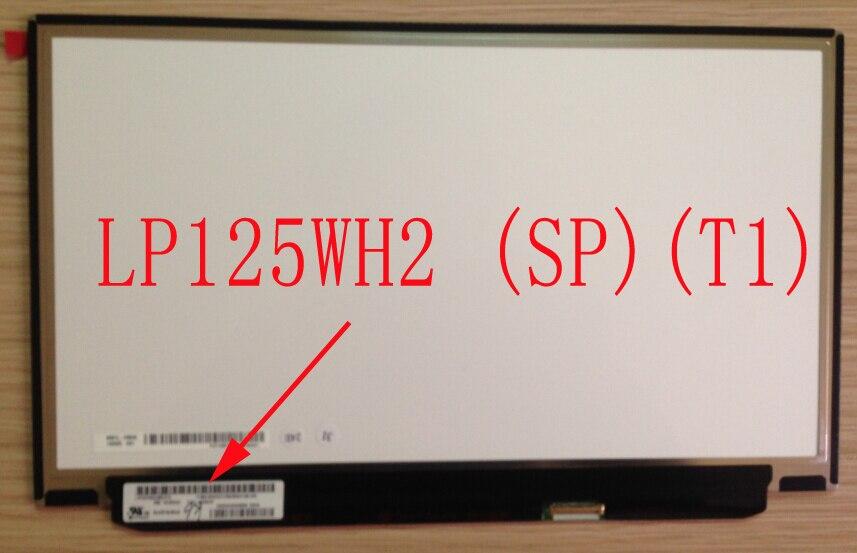 LP125WH2 SPT1 SP T1 pour Lenovo X250 IPS écran 1366*768 mat en bas à droite