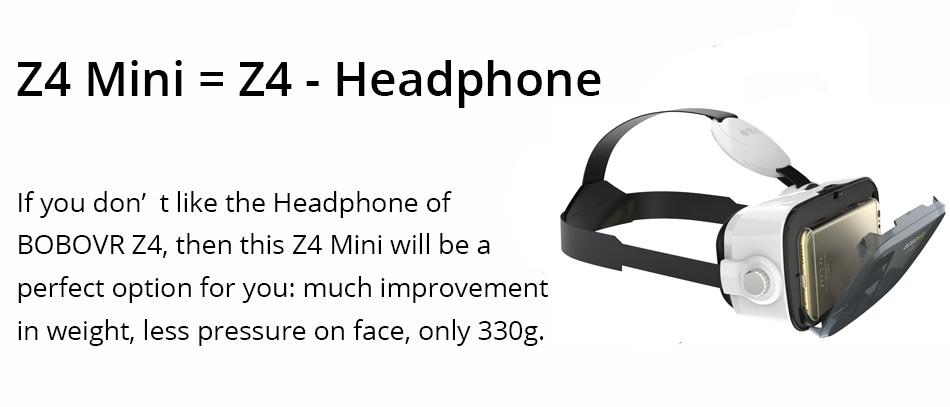 Original BOBOVR Z4 Headset version Virtual Reality 3D VR Glasses cardboard bobo vr z4 for 3.5 - 6.0 inch smartphones Immersive 13