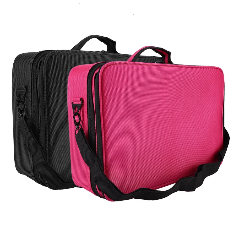 Upgrated 3 Layers Tattoo Storage Bags Cosmetic OrganizerBeauty Artist Makeup Case with Shoulder Strap Tattoo Suitcase  Supplies Upgrated 3 Layers Tattoo Storage Bags Cosmetic OrganizerBeauty Artist Makeup Case with Shoulder Strap Tattoo Suitcase  Supplies