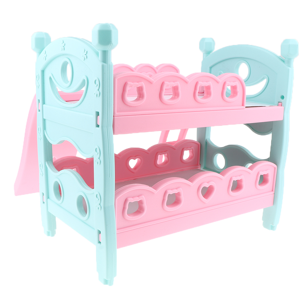 Mini Reborn Doll Bunk Bed Baby Doll Bunk Bed Newborn Baby Doll Furniture Nursery Furniture Toys For Dolls House Bedroom Decor Furniture Toys Aliexpress