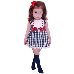 1e3de142b50a ISHOWTIENDA Child bow top suit Baby girl clothes 2018