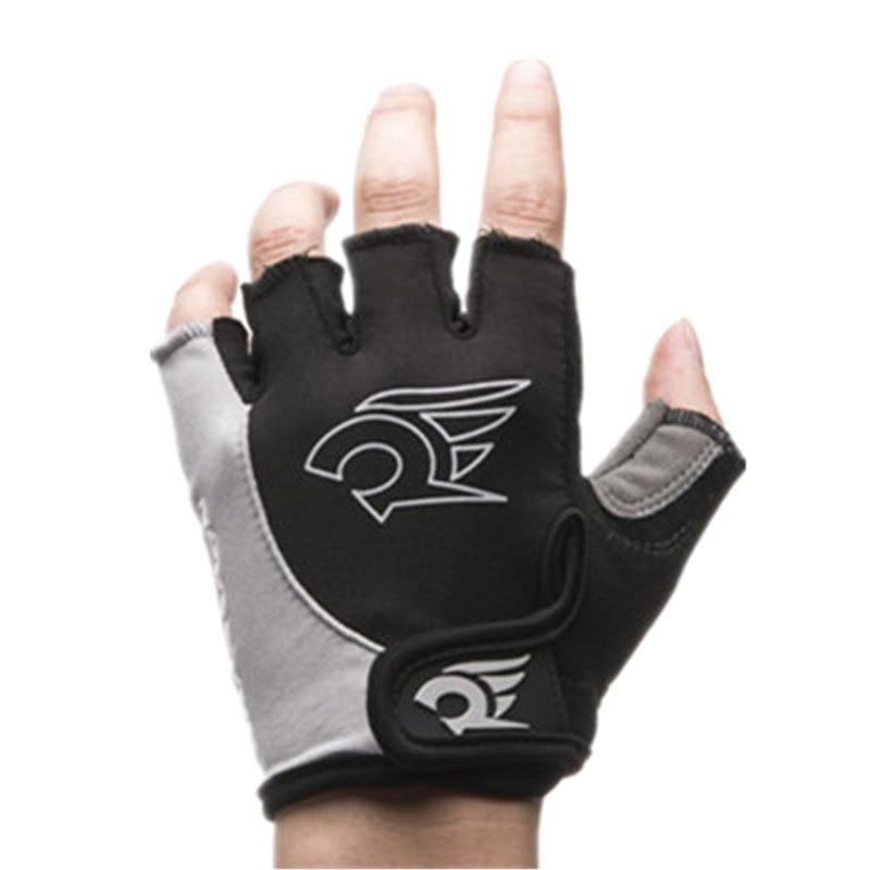 Mountain Riding Gloves With Padding Gym Short Fingerless Gloves Cycling Skate Bike Sports Wrist Half Finger Gloves For Men Women
