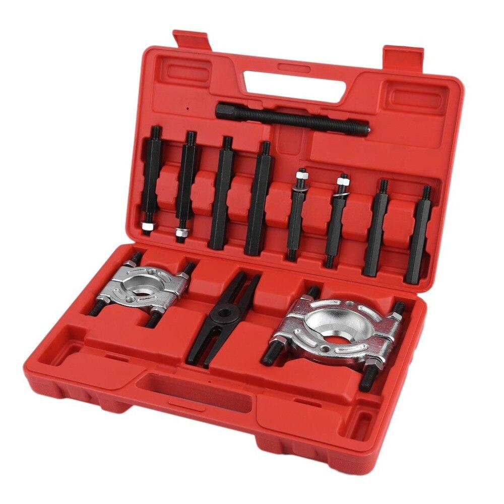 лучшая цена C8019 Small Volume Bearing Puller Separator Set Magnet Wheel Extractor Internal External Removal Remover Puller Kit Hand Tools