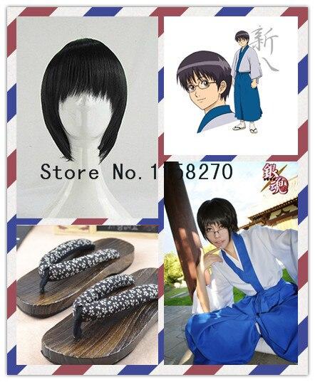Aliexpresscom Buy Gin Tama Gintama Shinpachi Shimura Cosplay