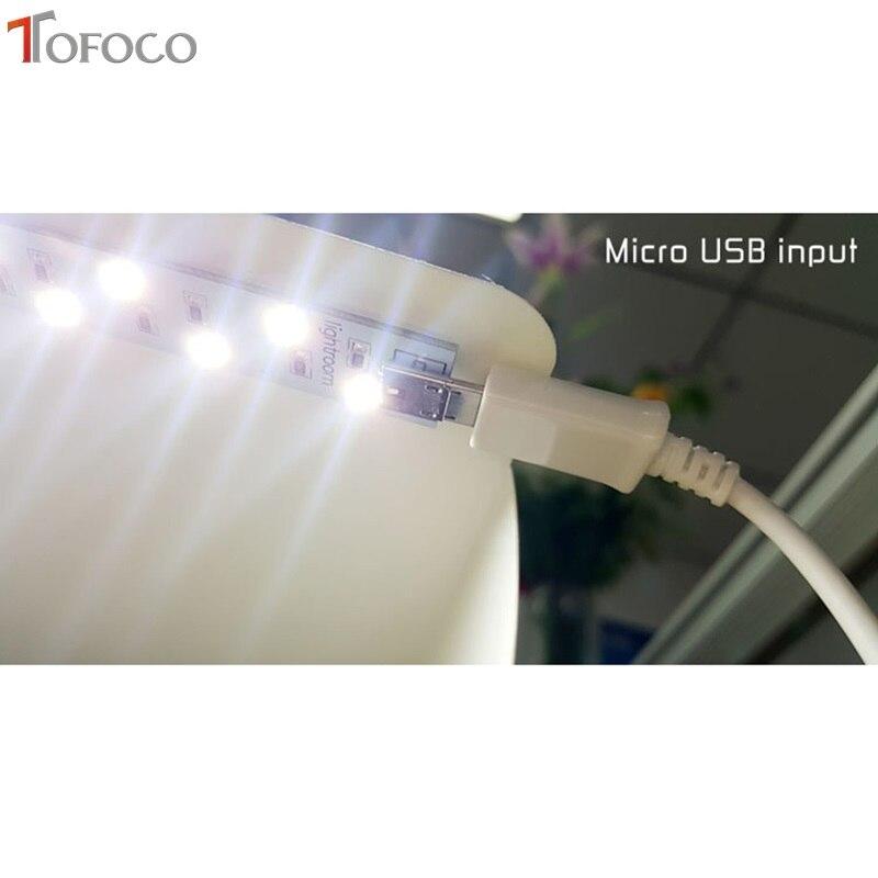 TOFOCO 22.6 cm x 23 cm x 24 cm Mini caja de estudio de fotos - Cámara y foto - foto 4