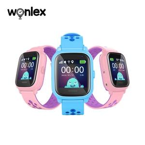 Image 4 - Wonlex reloj inteligente KT04 de 1,3 pulgadas, resistente al agua, IPS, IP67, natación, antipérdida, con AGPS/LBS/WiFi, posicionamiento GPS, SOS