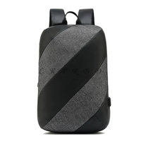 2018 new casual antitheft backpack 15.6 inch computer bag USB charging business travel bag