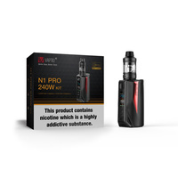 Vape Kit Original Vaptio N1 Pro 240W Lite Electronic Cigarette With atomizer 2.0ml Box MOD fit TFV12/tfv8 tank
