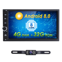 Standard Double 2Din Android8 0 In Dash Car Stereo Radio GPS Navigation Support 4GWIFI Bluetooth Mirrorlink
