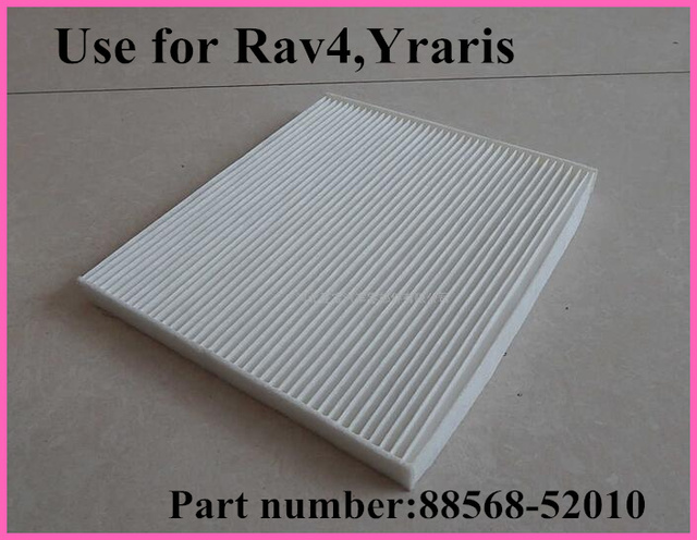 High quanlity non-woven with Activated carbon original car air condition filter element 88568-52010 for Toyota Rav4 YARIS/VITZ